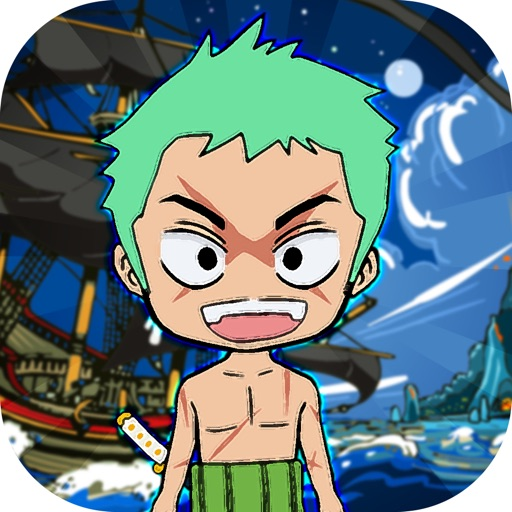 Pirates Manga Cartoon Stickers Keyboard Themes