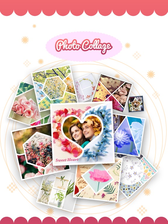 Pic-Frame Grid, Picture Collage Maker & Photo Editor Effects screenshot