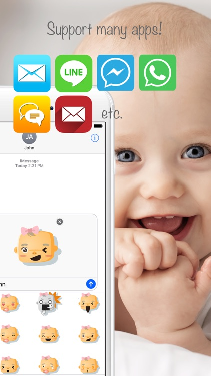 Babymoji - Emoji & Stickers screenshot-4