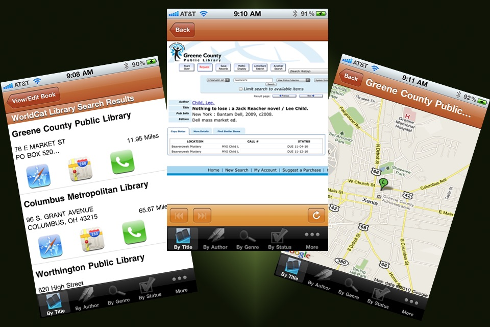 iBookshelf Screenshot
