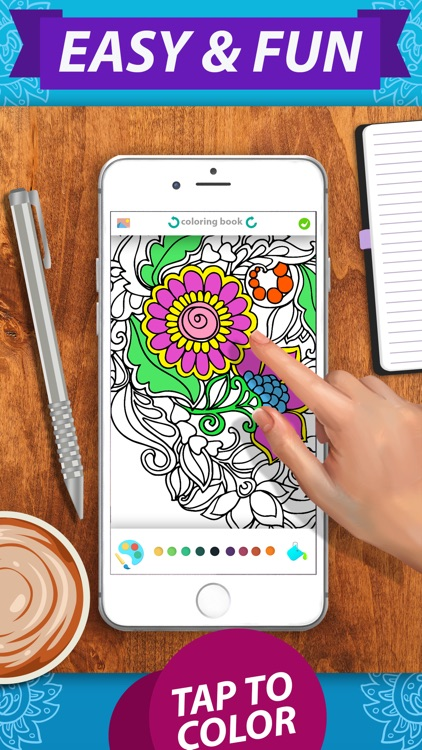 Coloring Book — No1 Coloring Book & Coloring Pages screenshot-1