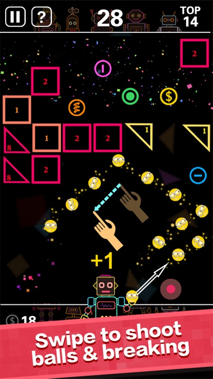 BB Balls-Bricks Breaker game screenshot-0