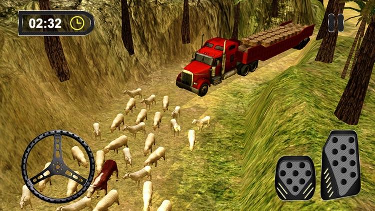 3D Farm Truck Hay Extreme - Farming Game screenshot-4