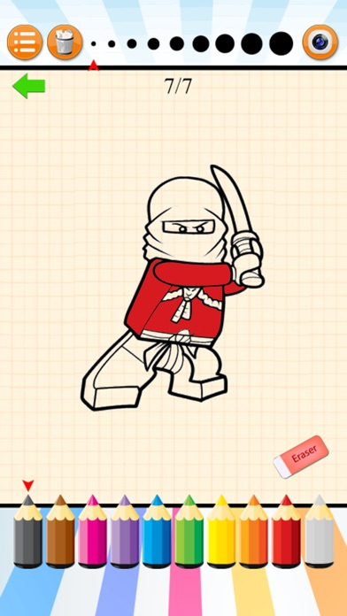 How to Draw and Coloring for Lego Ninjago app image