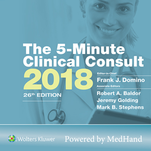 The 5-Minute Clinical Consult 2018 app