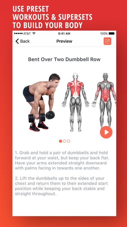 PRO Fitness - Exercises and Workouts! screenshot-1
