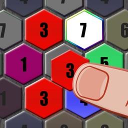 Merge Hexa Blocks & Make 7 in Brain Trivia Puzzle