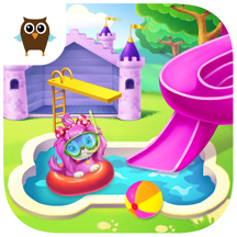 Pink Dog Mimi - My Virtual Pet Puppy Care & Games