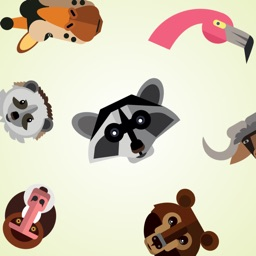 Animal Heads Stickers