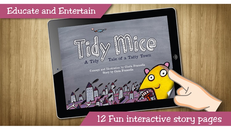 Tidy Mice Tales - Interactive Bedtime Story Book screenshot-0
