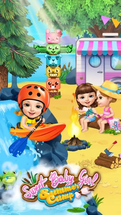 Sweet Baby Girl Summer Camp - Kids Camping Club