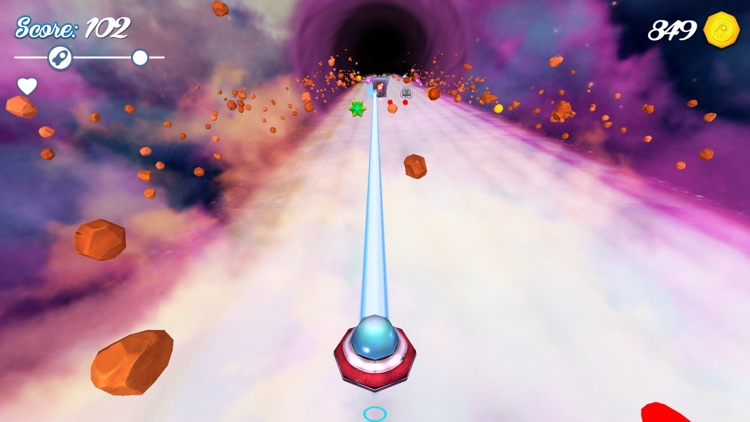 Rocklien Run - Endless Space Runner screenshot-0