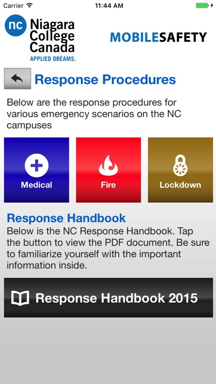 Mobile Safety - Niagara College screenshot-3