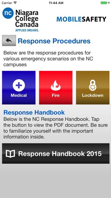 Mobile Safety - Niagara College screenshot-3