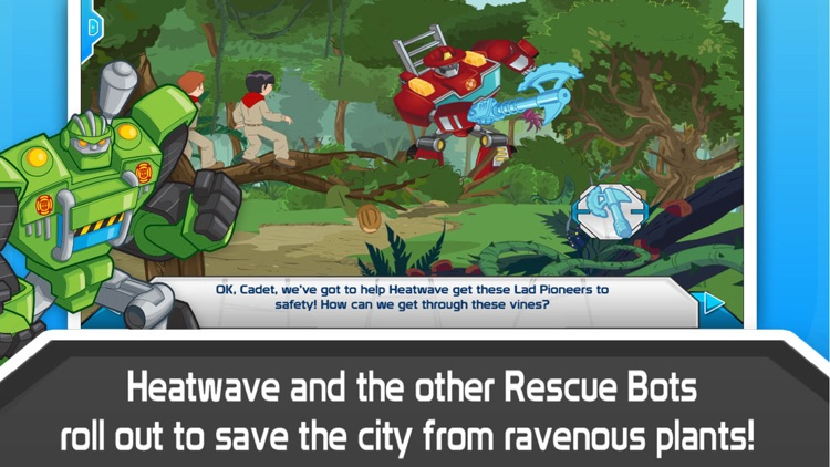 Transformers Rescue Bots: Sky Forest Rescue screenshot-2