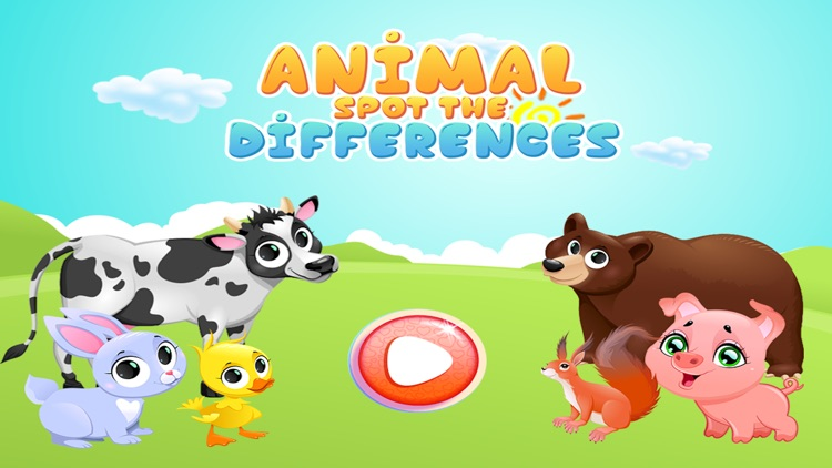 Spot The Differences : Animal