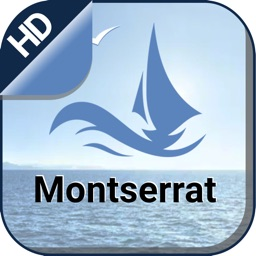 Montserrat nautical sailing gps charts for boating