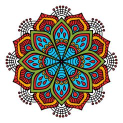 Animals & Mandalas Coloring Book