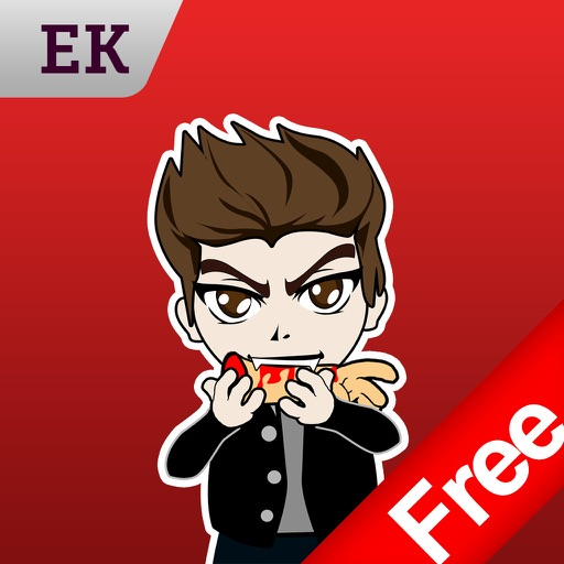 Emoji Kingdom 14 Free Vampire Halloween Emoticon Animated for iOS 8