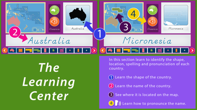 Oceania - Montessori Geography for Preschool & Up screenshot 2