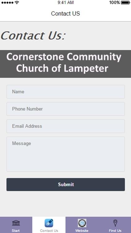 Cornerstone Community Church of Lampeter