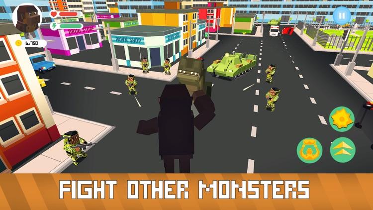 Blocky Monsters Smash Full screenshot-3