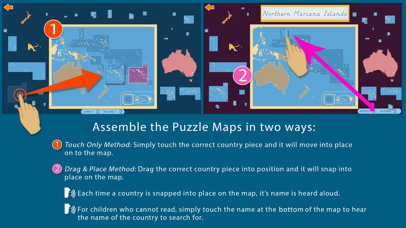 Oceania - Montessori Geography for Preschool & Up screenshot 4