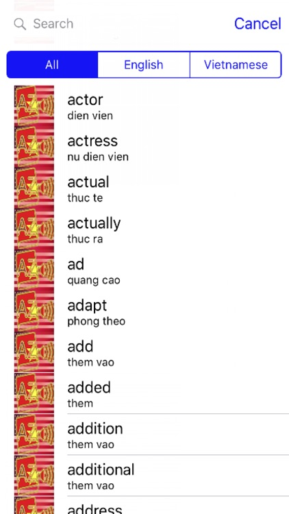 Vietnamese Dictionary GoldEdition screenshot-1