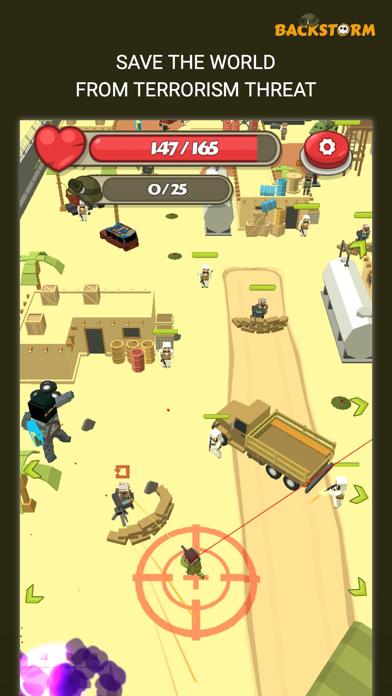 Backstorm Attack - Endless RPG War Runner screenshot 5