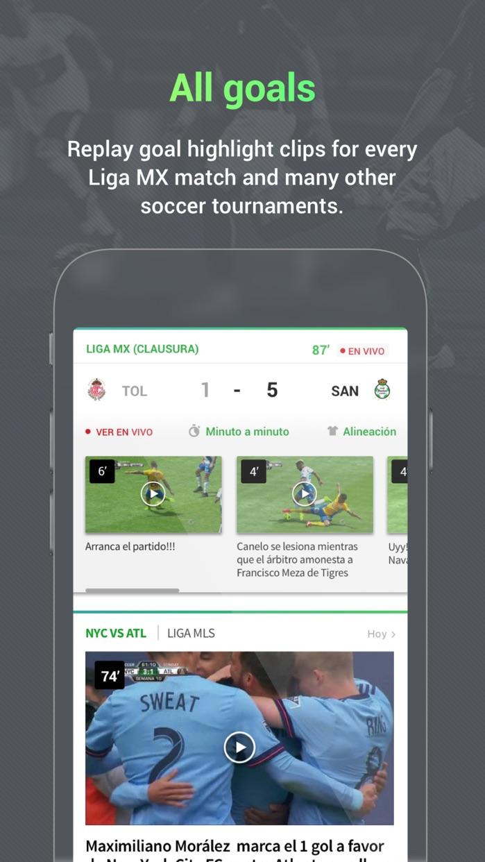 Univision Deportes Screenshot