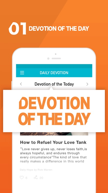 Daily Devotion - Share & Reminder