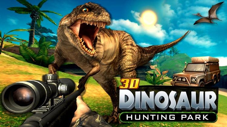 3D Dinosaur Hunting Park Animal Simulator Games screenshot-4