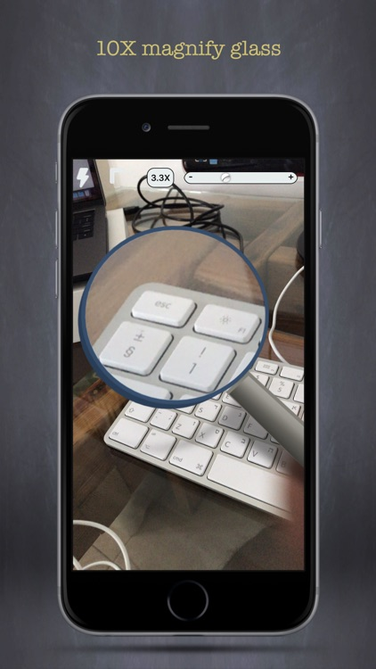 Magnifier - Zoom Magnifying Glass With Flashlight