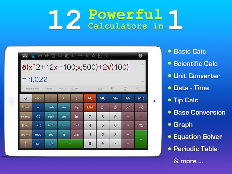 Calculator : Scientific Calculator Unit Converter screenshot-0