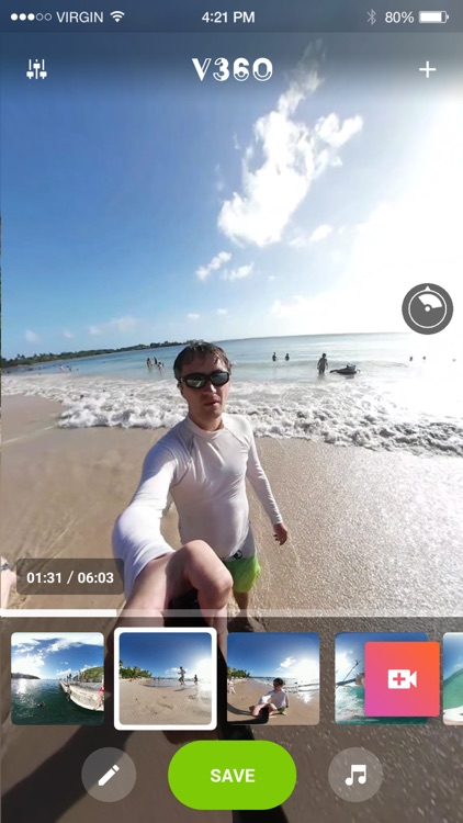 V360 - 360 video editor screenshot-1