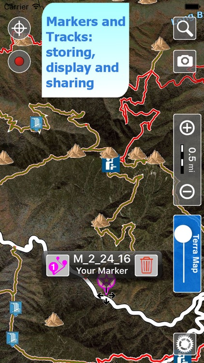 Trails of Great Smoky Mountains - GPS for Hiking screenshot-3