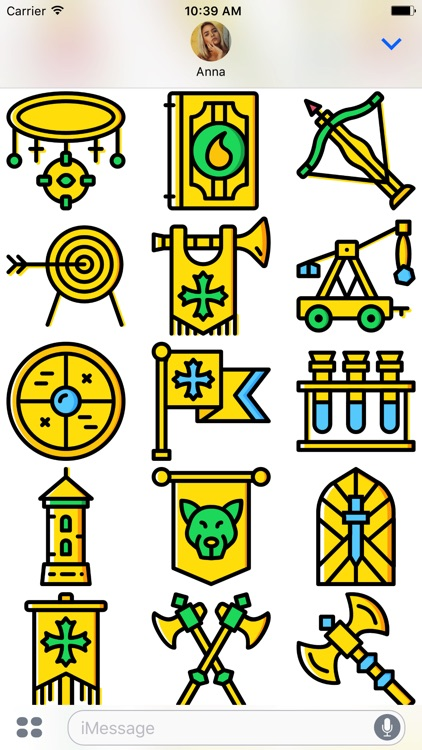The Medieval: Golden Era Emoji Stickers Limited screenshot-4