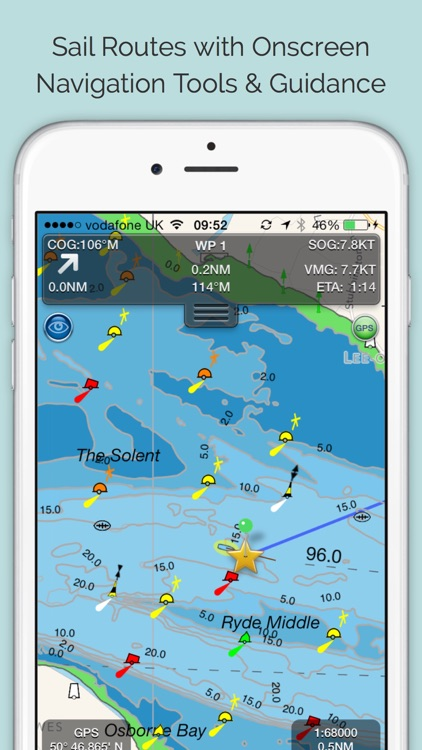 SeaNav - HD Nautical Charts and Marine Navigation screenshot-0