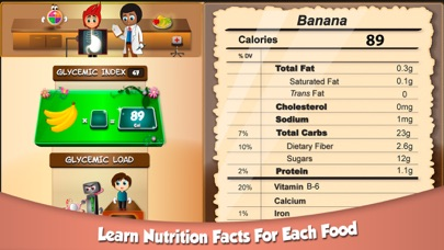 Screenshot for fooya! fit food fun! in United States App Store