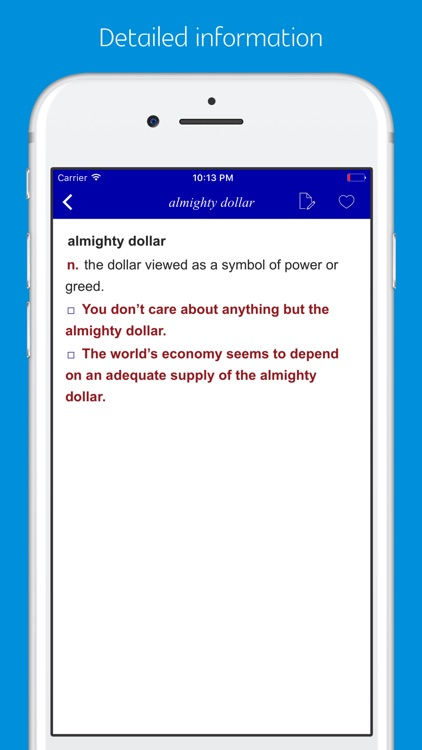 American Slang and Colloquialism Dictionary screenshot-1