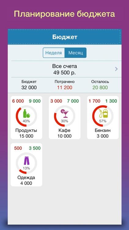 Деньги ОК 2 - личные финансы, учет расходов screenshot-3