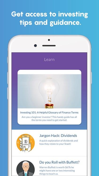 Stash Invest: Investing & Financial Education screenshot-3