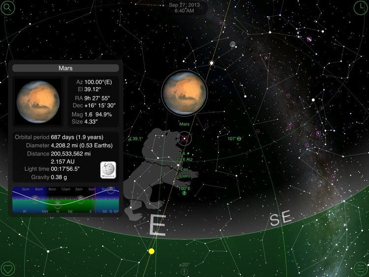 GoSkyWatch Planetarium for iPad - Astronomy Guide screenshot-0