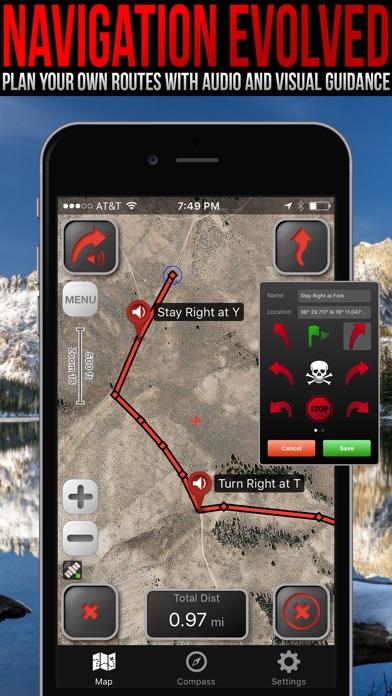 LeadNav GPS Screenshot