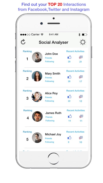 Social Analyser screenshot-1