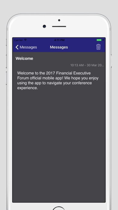 2017 FMI Financial Executive Forum app image