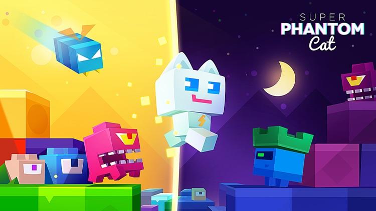 Super Phantom Cat - Be a jumping bro. screenshot-4
