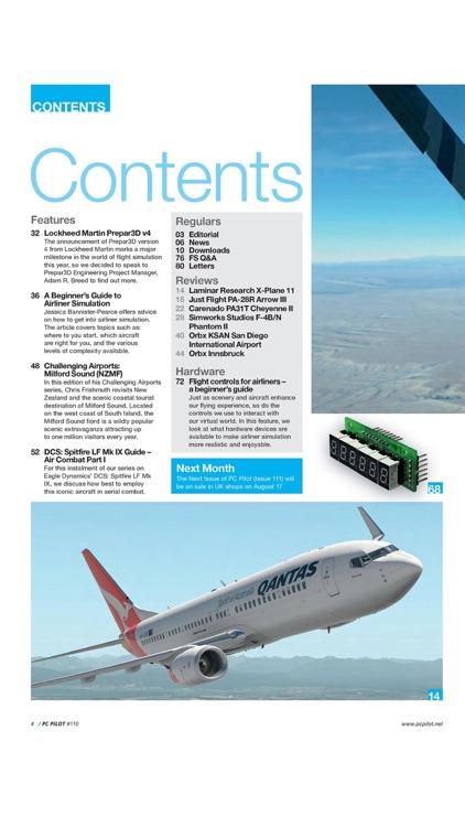 PC Pilot - computer aviation & flight sim magazine