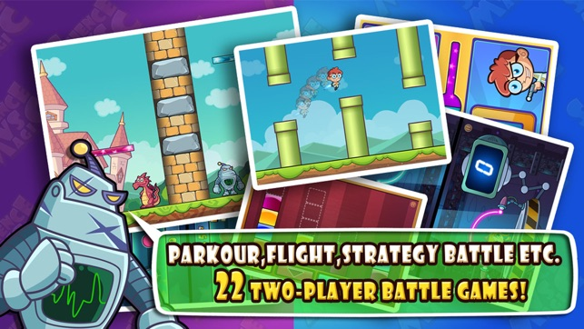 mac app store two player games