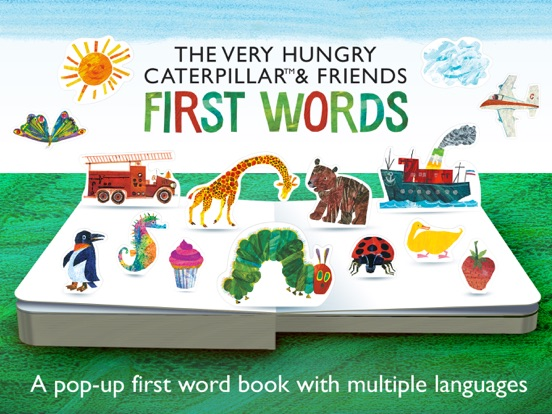 The Very Hungry Caterpillar– First Words на iPad